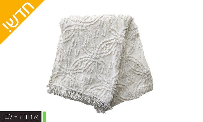 9 כיסוי מיטה 100% כותנה ASHRAM המשמש גם כשמיכה במגוון גדלים, דגמים וצבעים לבחירה
