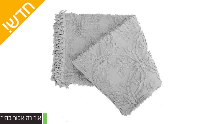 12 כיסוי מיטה 100% כותנה ASHRAM המשמש גם כשמיכה במגוון גדלים, דגמים וצבעים לבחירה