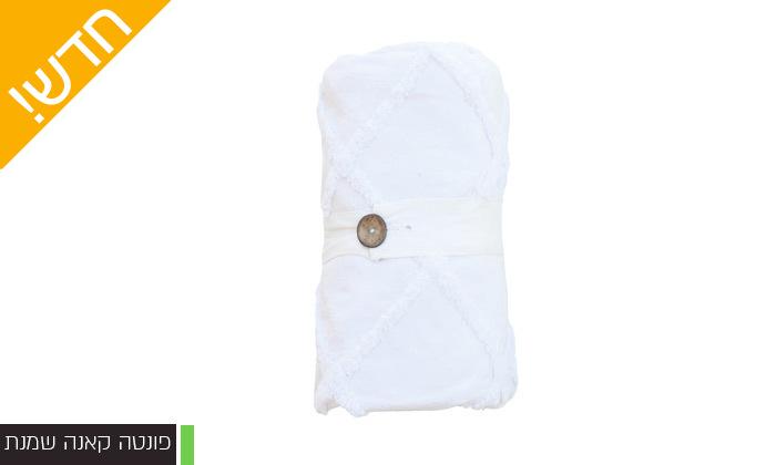 13 כיסוי מיטה 100% כותנה ASHRAM המשמש גם כשמיכה במגוון גדלים, דגמים וצבעים לבחירה