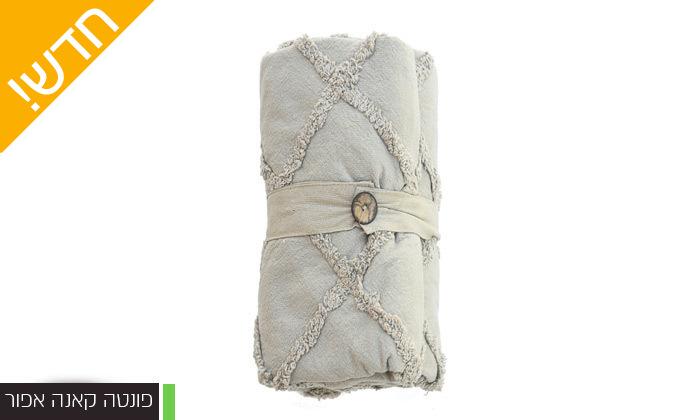 15 כיסוי מיטה 100% כותנה ASHRAM המשמש גם כשמיכה במגוון גדלים, דגמים וצבעים לבחירה