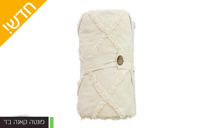 16 כיסוי מיטה 100% כותנה ASHRAM המשמש גם כשמיכה במגוון גדלים, דגמים וצבעים לבחירה
