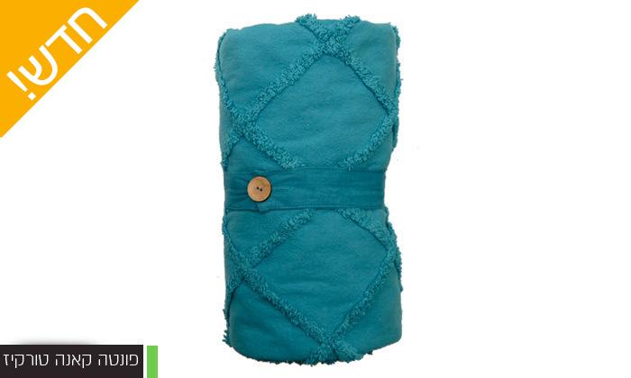 17 כיסוי מיטה 100% כותנה ASHRAM המשמש גם כשמיכה במגוון גדלים, דגמים וצבעים לבחירה