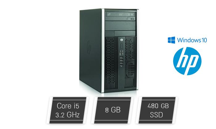 2 מחשב נייח מחודש HP דגם 8300 עם זיכרון 8GB ומעבד i5