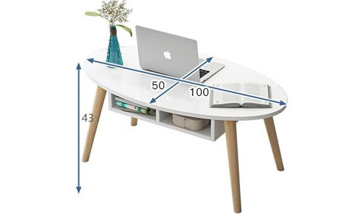 4 שולחן סלון גולן RAMOS