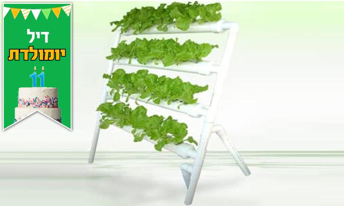 3 דיל לזמן מוגבל: ערכת גידול הידרופוני לגידול ירקות בבית