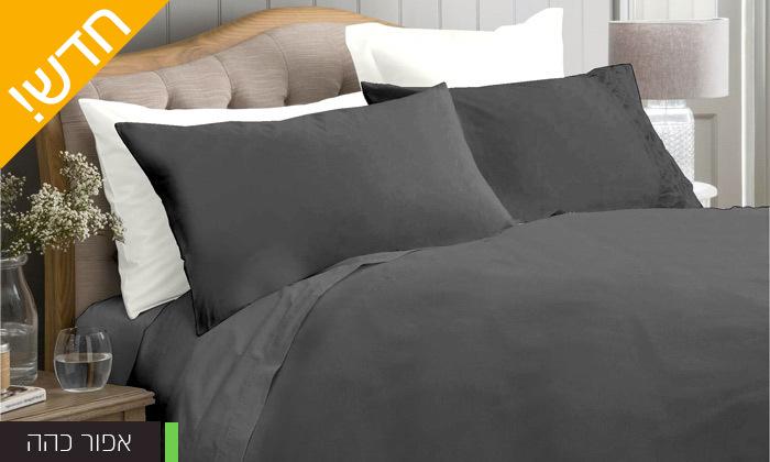 4 סט מצעים 100% כותנה סאטן בצפיפות חוטים 300 ומעלה למיטה זוגית Cotton Avenue