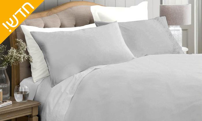 6 סט מצעים 100% כותנה סאטן בצפיפות חוטים 300 ומעלה למיטה זוגית Cotton Avenue