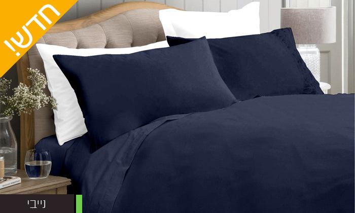 5 סט מצעים 100% כותנה סאטן בצפיפות חוטים 300 ומעלה למיטה זוגית Cotton Avenue