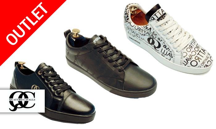 2 נעלי סניקרס אופנתיות לגברים Quattro Cavalli