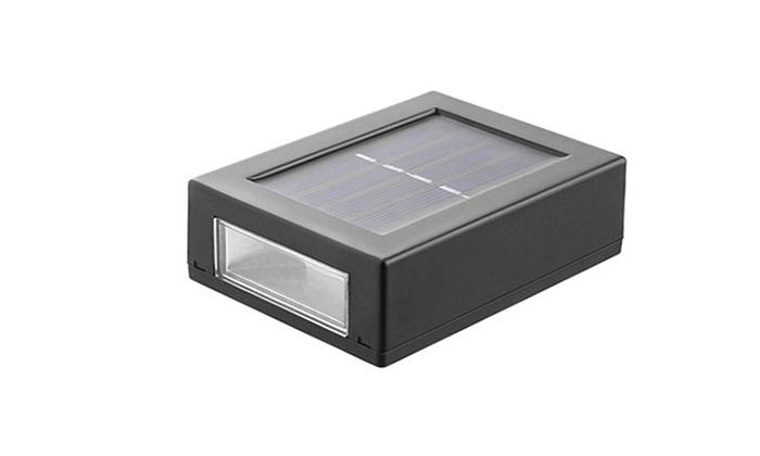 2 זוג מנורות סולאריות ללא צורך בחיבור לחשמל