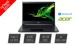 """מחשב נייד Acer עם מסך """"14"""