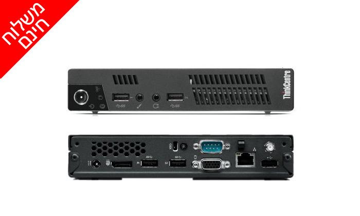 """4 מחשב Lenovo דגם TIO Gen3 Monitor עם מסך """"24, מעבד i5 וזיכרון לבחירה - משלוח חינם"""