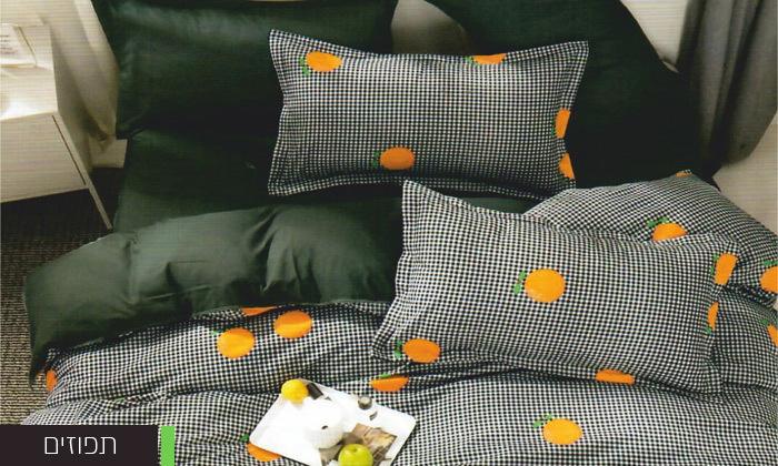 3 סט מצעים למיטה זוגית במבחר דגמים