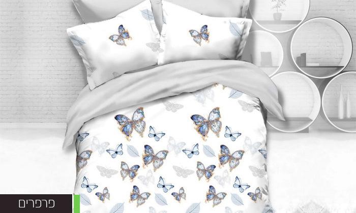 4 סט מצעים למיטה זוגית במבחר דגמים