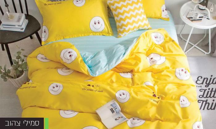 5 סט מצעים למיטה זוגית במבחר דגמים