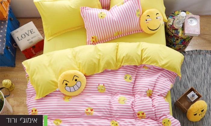 6 סט מצעים למיטה זוגית במבחר דגמים