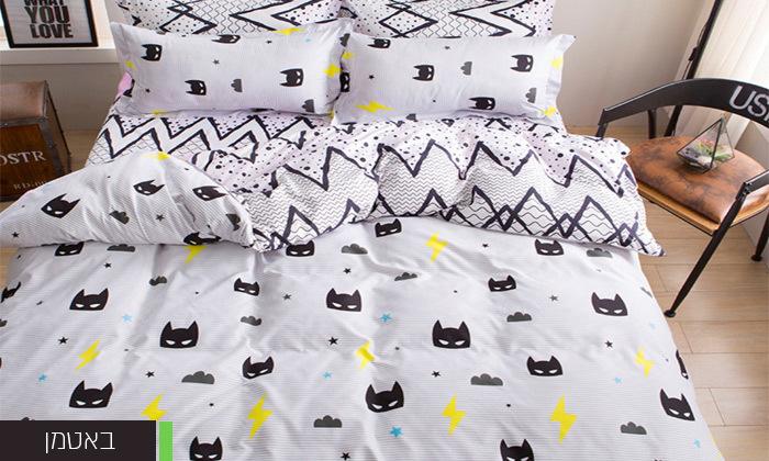 10 סט מצעים למיטה זוגית במבחר דגמים