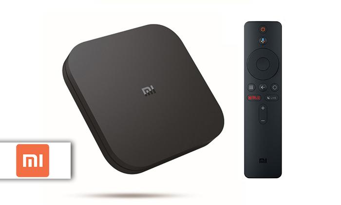 2 סטרימר 4K Ultra HD דגם Mi Box S