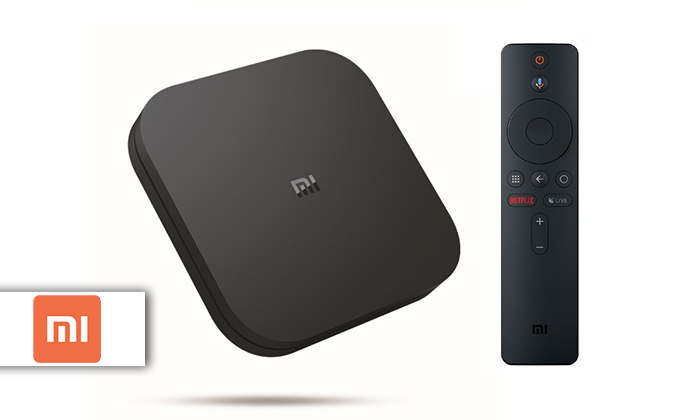 סטרימר 4K Ultra HD דגם Mi Box S