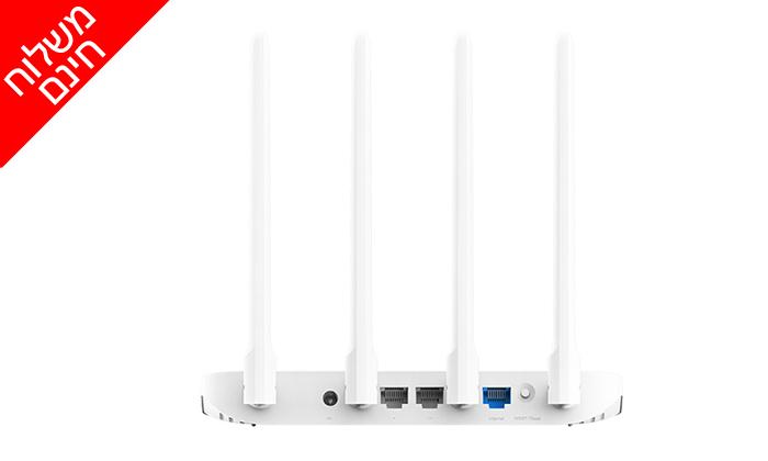 3 נתב חכם4 אנטנותXiaomi דגםMi Router 4A EU - משלוח חינם