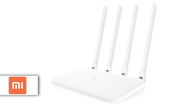 2 נתב חכם4 אנטנותXiaomi דגםMi Router 4C