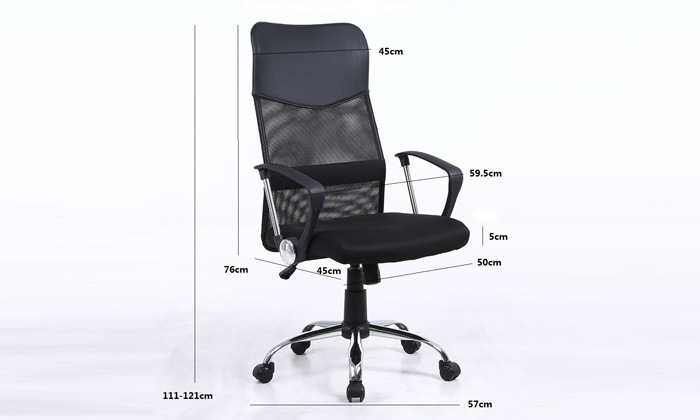 3 כיסא מנהלים SIT ON IT, דגם OFFICE PLUS