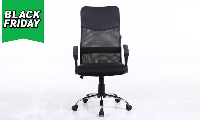 6 כיסא מנהלים SIT ON IT, דגםOFFICE PLUS