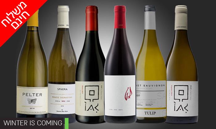 4 מארזי יינות לבחירה מ-House of Wine במשלוח חינם