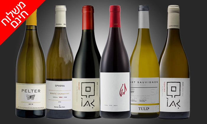 7 מארזי יינות לבחירה מ-House of Wine במשלוח חינם