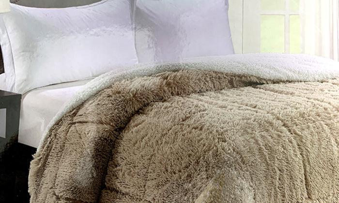 2 שמיכת כבש זוגית DARNA