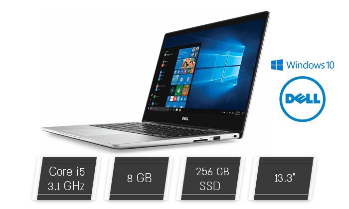 מחשב נייד Dell עם מסך 13.3 אינץ' - משלוח חינם