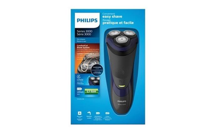 2 מכונת גילוח נטענת PHILIPS