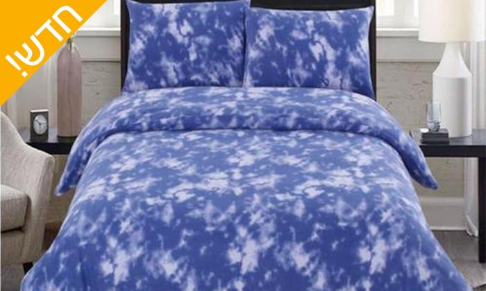 2 סט מצעי פליז למיטת יחיד או מיטה זוגית במגוון צבעים