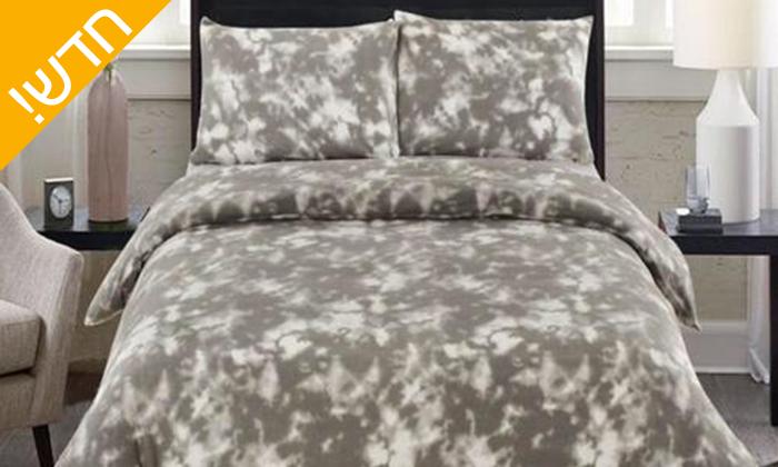 6 סט מצעי פליז למיטת יחיד או מיטה זוגית במגוון צבעים