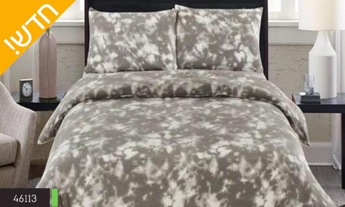 3 סט מצעי פליז למיטת יחיד או מיטה זוגית במגוון צבעים