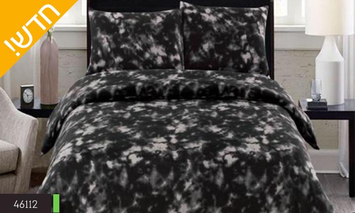 4 סט מצעי פליז למיטת יחיד או מיטה זוגית במגוון צבעים