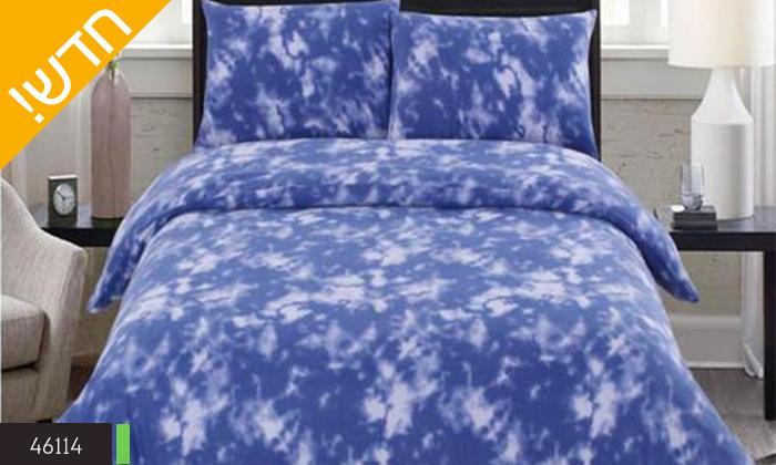 5 סט מצעי פליז למיטת יחיד או מיטה זוגית במגוון צבעים