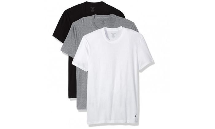 2 מארז 6 חולצות טי שירט נאוטיקהלגבר NAUTICA