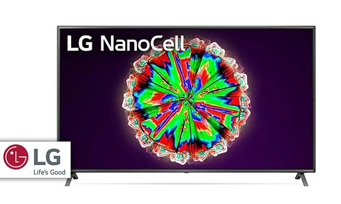 2 טלוויזיה חכמה 50 אינץ' LG דגם50NANO79