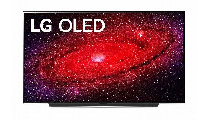 3 טלוויזיה חכמה 55 אינץ' LG דגםOLED55CX