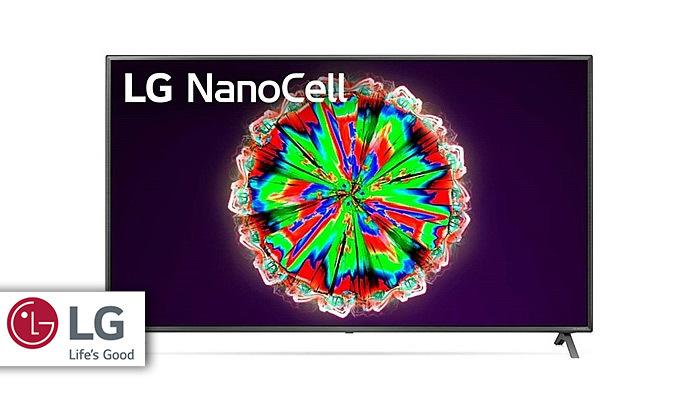 2 טלוויזיה חכמה LG 4K NanoCell, מסך 65 אינץ'