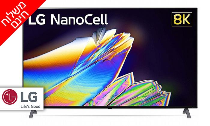 2 טלוויזיה חכמה 65 אינץ' LG דגם65NANO95 - משלוח חינם
