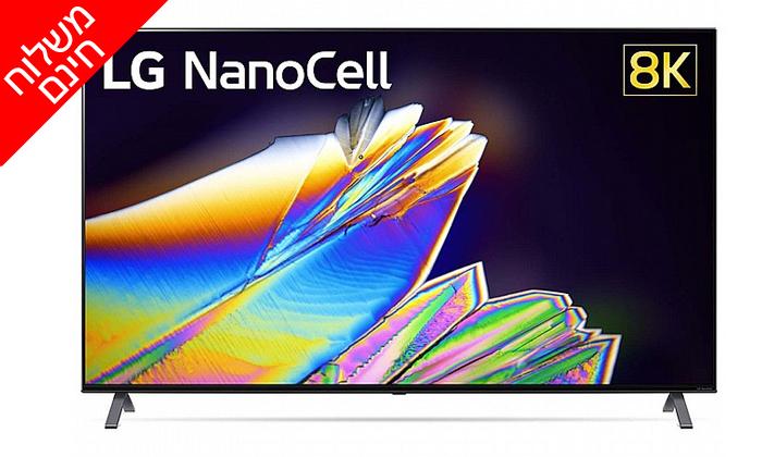3 טלוויזיה חכמה 65 אינץ' LG דגם65NANO95 - משלוח חינם