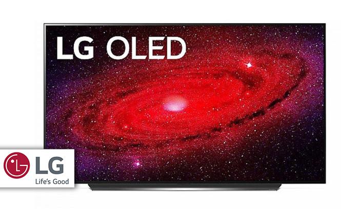 2 טלוויזיה חכמה 65 אינץ' LG דגםOLED65CX