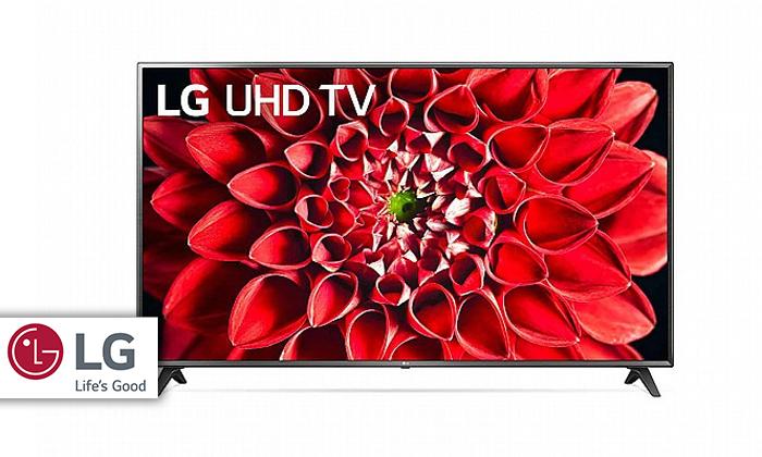 2 טלוויזיה חכמה 75 אינץ' LG דגם 75UN7100