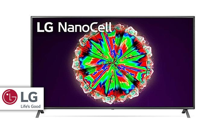 """2 טלוויזיה חכמה 75"""" LG, דגם75NANO79"""