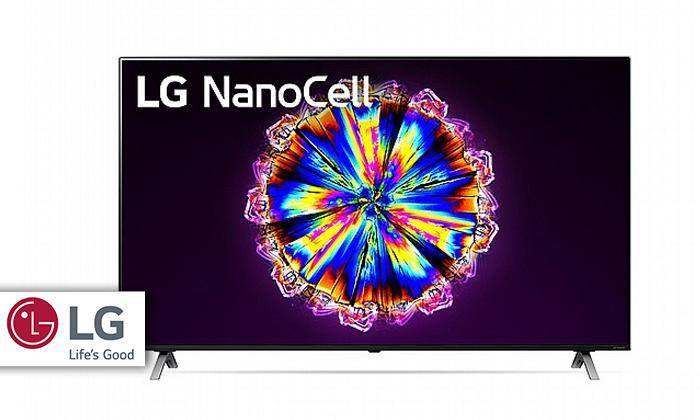 2 טלוויזיה חכמה 75 אינץ' LG דגם75NANO90