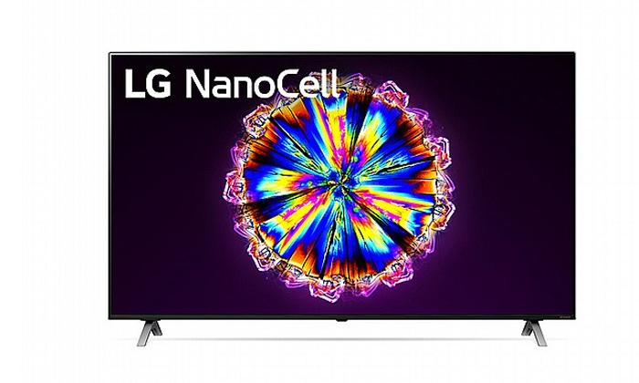3 טלוויזיה חכמה 75 אינץ' LG דגם75NANO90