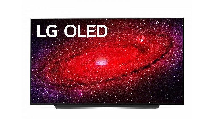 3 טלוויזיה חכמה 77 אינץ' LG דגםOLED 77CX
