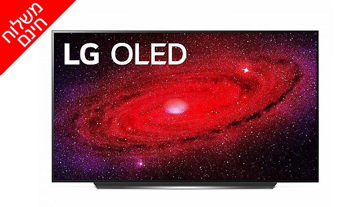 3 טלוויזיה חכמה 77 אינץ' LG דגםOLED 77CX- משלוח חינם